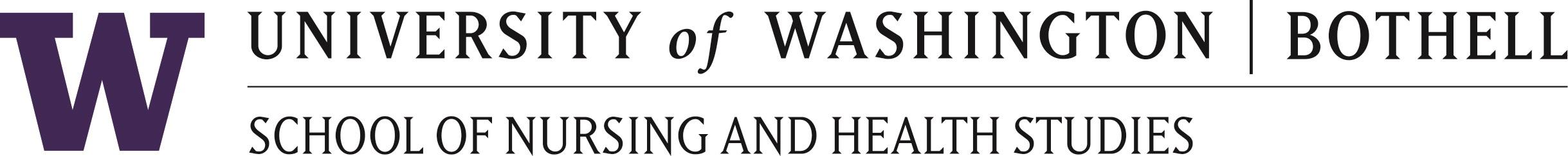 University of Washington - Bothell -Nursing and Allied Health Logo